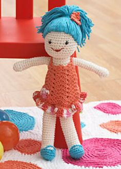 Ravelry: Lily Doll pattern by Lily / Sugar'n Cream