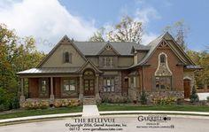Bellevue House Plan 06112, Front Elevation, Craftsman Style House Plans, Mountain Style House Plans
