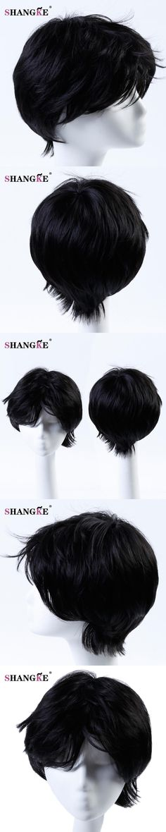 Burgundy Short Hair Wigs