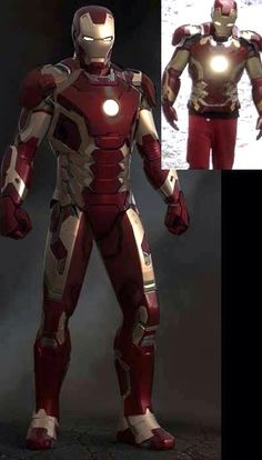 From waht I have found out this is the new armor in the new avengers movie..