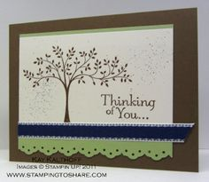 Stamping to Share: 8/17 Stampin' Up! Thoughts & Prayers