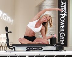 Pilates power gym exercises link to the company's exercise home page