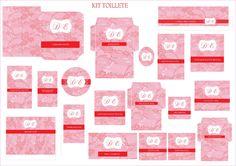Kit toilete Personalizado - cores  de acordo com o tema da Festa. Ateliê Melana