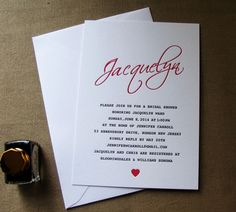 #Wedding #invitation #inkpaperart #stationery #letterpress