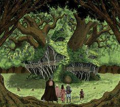 Berserk - Flora's house by Frog-Machine