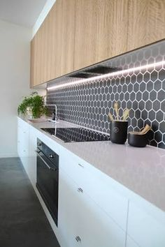 Image result for tiled kitchen splashbacks