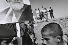 Gilles Peress. Tabriz - Followers of Ayatollah Shariot Madari. 1980