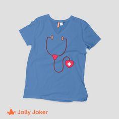 45579a627e8ca 9 mejores imágenes de Camisetas de Enfermería Personalizadas ...