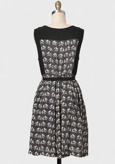 Dynasty Elephant Print Dress