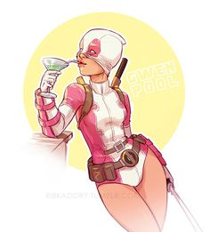 GwenPool by ribkaDory on DeviantArt