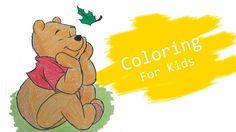 Coloring Pages For Kids With Winnie The Pooh Coloring Book - Pi n' Mo