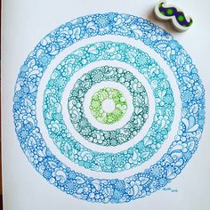 doodle, blue, zentangle art, drawing, stabilo