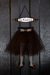 The Witch Is In Leggy Hanger