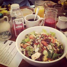 Bubby's - NYC, Tribeca 120 Hudson St, New York, NY 10013, États-Unis Juice Branding, Cobb Salad, Potato Salad, Brunch, Nyc, Ethnic Recipes, York, New York