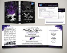 American Cancer Society 2017 Evening of Hope Gala Invitation Design