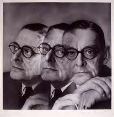 T.S. Eliot (1948 Nobel Prize for Literature),1956 // Photographed by Cecil Beaton,