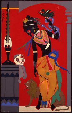 Romare Beardens Black Odyssey Puts A Modern Harlem Twist On Classical Mythology