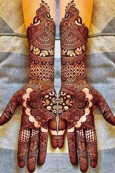 Simple Arabic Mehndi Designs For Wedding Simple Arabic Mehndi Designs, Full Hand Mehndi Designs, Modern Mehndi Designs, Henna Art Designs, Mehndi Designs For Girls, Mehndi Designs For Fingers, Tattoo Designs, Arabic Design, Engagement Mehndi Designs
