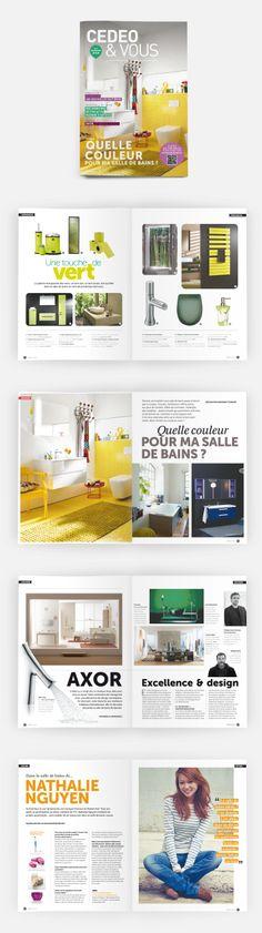 L'édition n°9 (Printemps 2014) de CedeoVous, le magazine des tendances de la salle de bains #OPS2