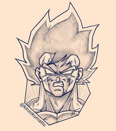 Me gusta, 9 comentarios – きんぞくマット ( en Instagr… Dbz Drawings, Cool Art Drawings, Art Drawings Sketches, Goku Drawing, Ball Drawing, Drawing Art, Anime Boy Sketch, Anime Art, Artwork