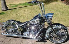 Harley Davidson News – Harley Davidson Bike Pics Harley Softail, Custom Baggers, Custom Choppers, Custom Harleys, Bagger Motorcycle, Motorcycle Style, Motorcycle Garage, Harley Davidson Chopper, Harley Davidson Motorcycles