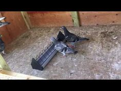 Small pigeon loft - On YouTube for 2 or 4 pairs, maybe 8 homing pigeon size birds.