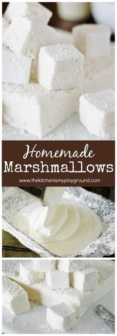 With their ultra-fluffiness and intensely delicious vanilla flavor, Homemade Marshmallows are totally worth the homemade time and effort.