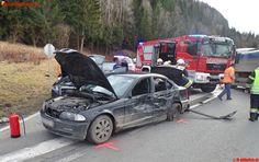 FF Althofen: Verkehrsunfall auf B317 #feuerwehr #firemen #austria