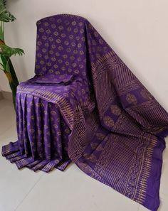 Block Print Saree, Cotton Sarees Online, Casual Saree, Bridal Sarees, Bridal Jewellery, Printed Sarees, Party Wear Sarees, Saree Styles, Designer Sarees
