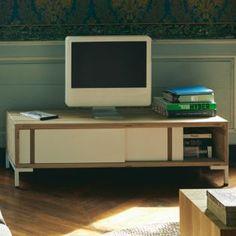 R tro designer baroque blanc brillant table basse meuble for Meuble tv ware
