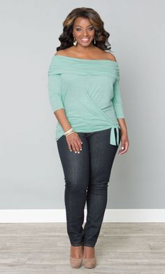 This is my favorite and think it's the perfect top for the evening. Love this!!!!