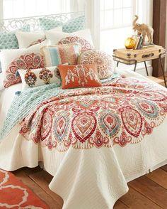 Designer Bedding Sets On Sale Bed Sheets Online, Cheap Bed Sheets, Paisley Bedding, Quilt Bedding, Paisley Quilt, Boho Bedding, Bedspread, Bed Linen Design, Bed Design
