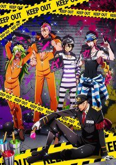 Revelado reparto adicional y diseños de personajes del Anime Nanbaka.