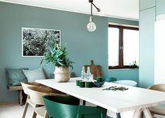 Comedor vivienda en Suecia • Total Green. Photo: J.Ingerstedt
