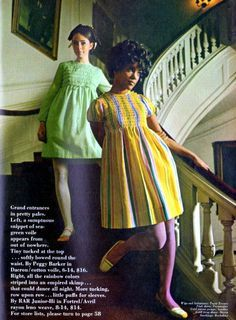 colleen corby | 1960s Baby Doll Smocking