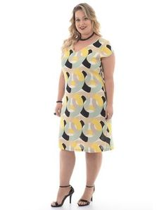 Vestidos Plus size Modest Dresses Casual, Big Dresses, Simple Dresses, Plus Size Dresses, Plus Size Outfits, Halter Dresses, Plus Size Chic, Plus Size Model, Molliges Model
