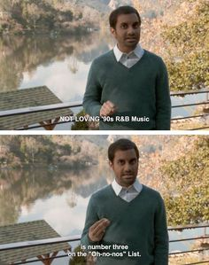 Aziz Ansari- love his stand up and his character Tom in Parks and Rec  :)