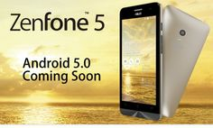 Android Lollipop on Asus Zenfone 5 - Coming Soon #asus #zenfone 5 #androidlollipop