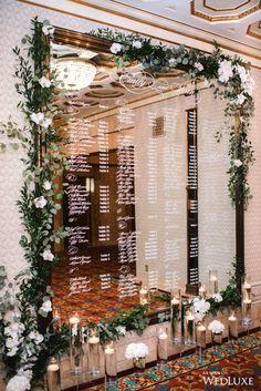 new Ideas mirror seating chart wedding photography Wedding Mirror, Wedding Vows, Wedding Table, Diy Wedding, Dream Wedding, Wedding Venues, Tuscan Wedding, Budget Wedding, Wedding Reception