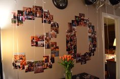 30th birthday party!  This is a great idea for any BIG birthday.  :-)