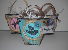 How to make recycled brown paper bag origami pouches · Recycled Crafts   CraftGossip.com