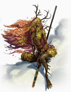Faentaera is a old forest spirit of the Verija forest that is wandering around and protect it from all kind of destructive forces and creatures. Fantasy Races, Fantasy Rpg, Fantasy World, Forest Creatures, Magical Creatures, Nature Spirits, Form Design, Creature Concept, Character Design Inspiration
