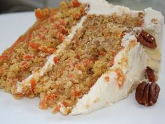 Carrot and Maple Cake, Creamy Maple Glaze Sweet Recipes, Cake Recipes, Desserts With Biscuits, Bon Dessert, Dessert Simple, Desert Recipes, Easy Desserts, Food Inspiration, Breakfast Recipes