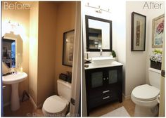 Powder Bathroom Makeover Reveal! - Decorchick!