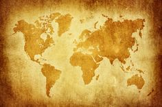 Liven up your wall with this grunge beach vintage feature world map wallpaper buy online maps international gumiabroncs Choice Image