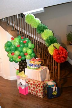 The Very Hungry Caterpillar Birthday Party Ideas | Photo 3 of 15 | Catch My Party