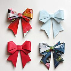 diy reuse old magzine recycled paper craft ideas