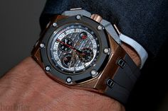 30 minutes on the wrist with the Audemars Piguet Royal Oak Offshore Chrono Michael Schumacher Limited Edition
