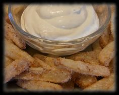 The Ardent Epicure: What's for Snack Time? - Delicious Apple Fries!