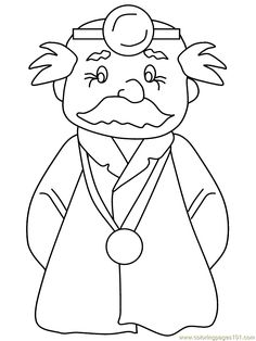 Doctor Coloring Page Coloring Pages